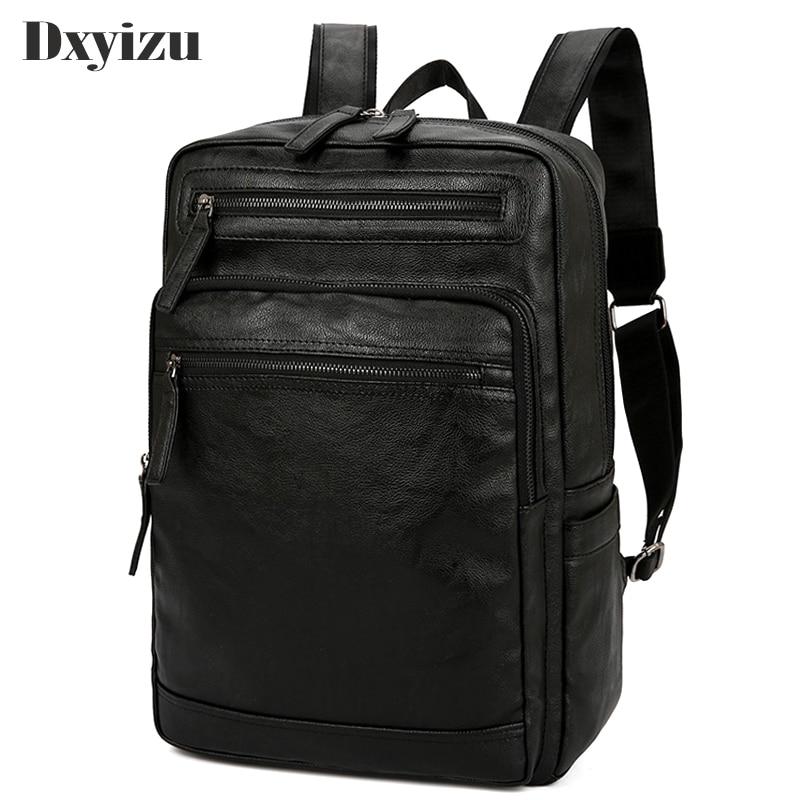 2020 جلد الغنم الأعمال حقيبة كتف حقيبة السفر الذكور محمول حقيبة مدرسية عالية الجودة الرجال daypack للأولاد المراهقين
