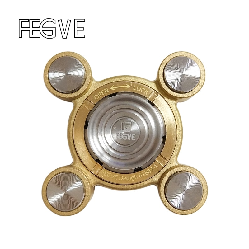 FEGVE Flying Air Tiger Fingers Fidget Spinner Metal Hand Spinner Finger EDC Spinner Stress Handspinner  Fidget Toy SL177