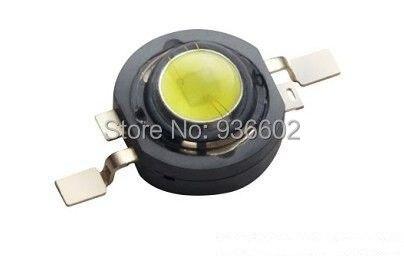 Светодиодсветодиодный лампа EVERLIGHT высокой мощности 1 Вт холодный белый свет 6000K 90