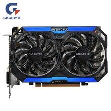 GIGABYTE oryginalny GPU GTX 960 4GD5 karty graficzne 128Bit GM206 GDDR5 karta graficzna dla NVIDIA mapa Geforce GTX960 4GB GV-N960OC-4GD