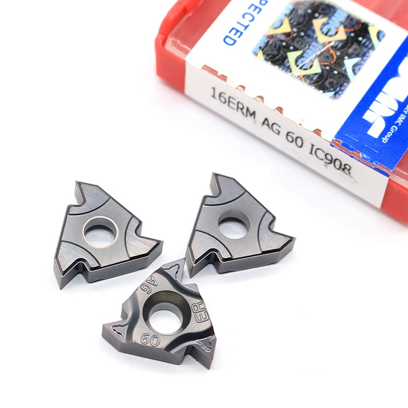 16ER AG60 11IR A60 16IR AG60 A60 G60 22IR 22ER N60 60 angle Thread turning tool Tungsten Carbide Insert Original Threading Lathe