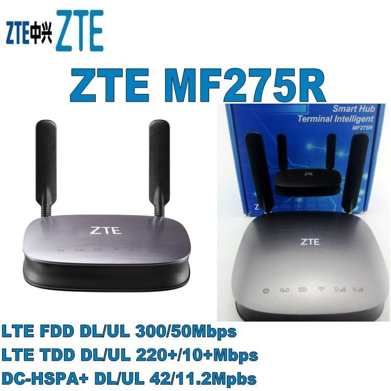 Monte de 10 Router Dhl Grátis Pcs Zte Mf275r 4g Lte