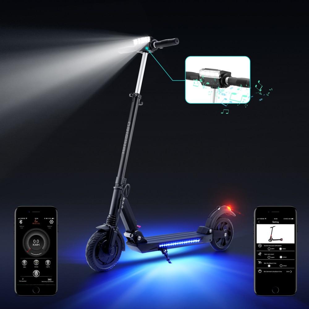 IScooter Scooter eléctrico inteligente E Scooter Skateboard Mini plegable Hoverboard Patinete Electrico adulto 40km batería con aplicación