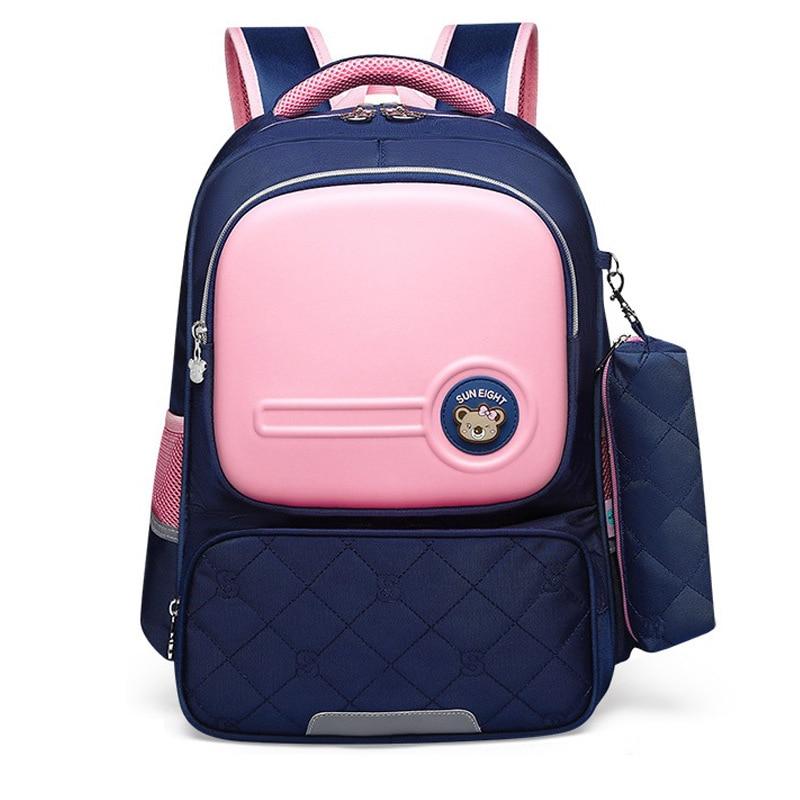 Детские школьные сумки, водонепроницаемый рюкзак для мальчиков и девочек, портфель для детей, школьные сумки, ортопедический рюкзак, рюкзак...