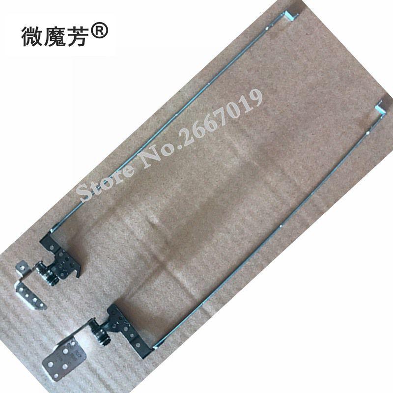 Nuevas bisagras LCD/bisagra para HP CQ58 G58 2000 2000-2A 2b 250 G1 255 G1 piezas de repuesto izquierda + derecha PN 6055B0023502 6055B0023501