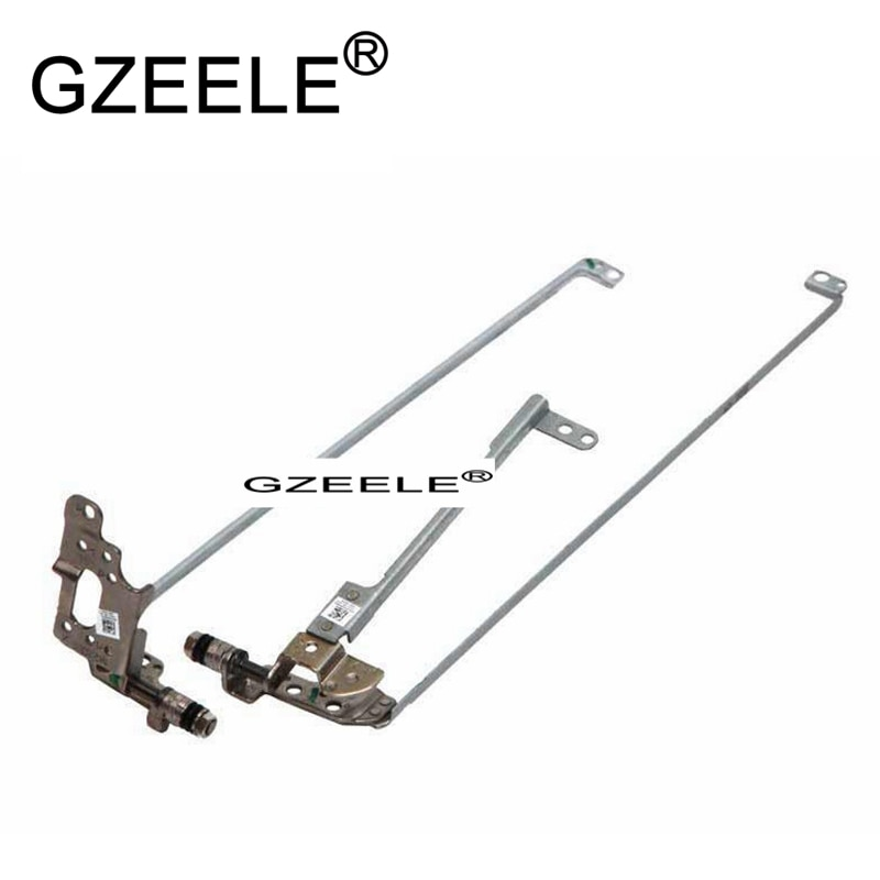 GZEELE جديد LCD المفصلي لتوشيبا E55-A E55D-A E55T-A شاشة مفصلات AM10S000500 AM10S000600 ل غير اللمس شاشة