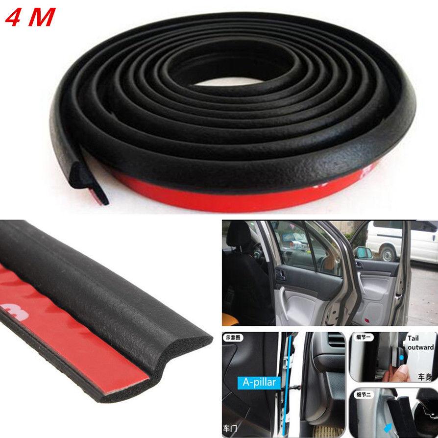 Car styling Interior Mouldings  Auto Window Door 4M Z-Shape Pad Rubber Seal Strip Weatherstrip Sealing Engine