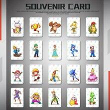 마리오 카트 용 amiibo 카드 8 스위치 용 디럭스 게임 nfc ntag215 카드-전체 세트 20 개