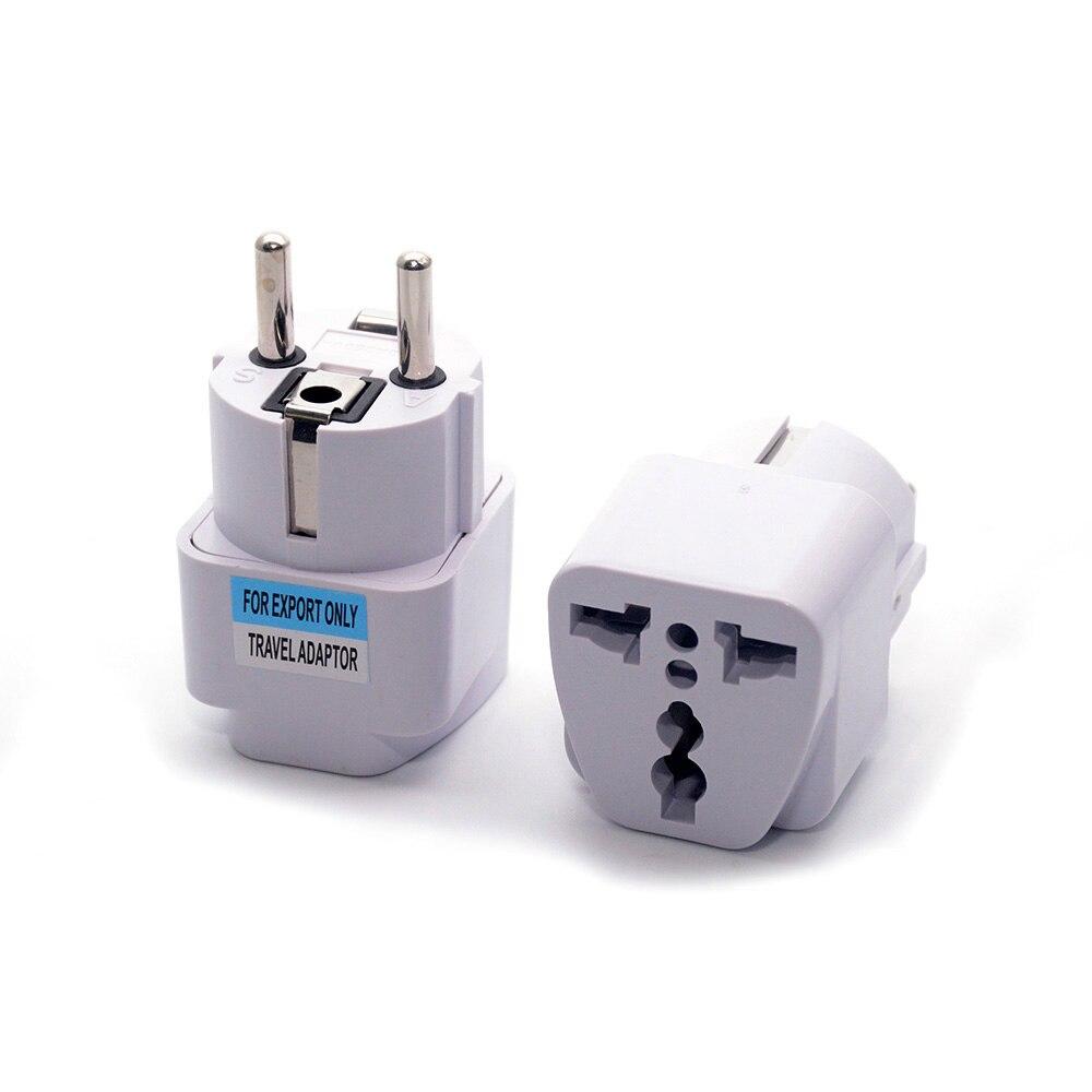 Оптовая Продажа Универсальная Европейская Южная Корейская вилка адаптер конвертер US AU UK To European KR AC для путешествий электрическая розетка розетки