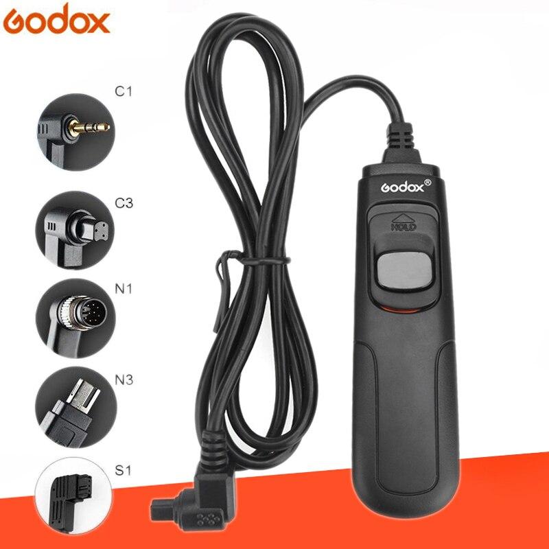 Кабель для спуска затвора камеры Godox RC-C1/C3/N1/N3/S1 DSLR для Canon Nikon Sony