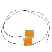 2 pièces paire 2.4/5GHz Mini PCI-E U. FL antenne interne ipx pour ordinateur portable sans fil mini pcie pci Card 4965 5100 7260hmw Ar5b22