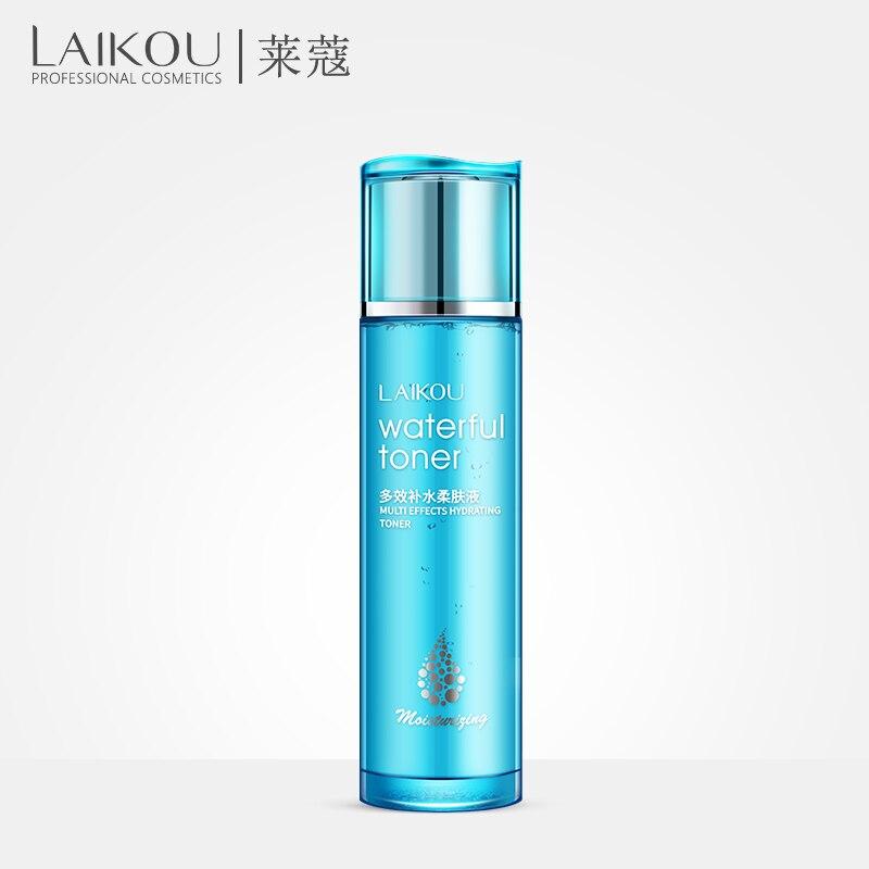 LAIKOU Hyaluronic Acid Moisturizing Face Toners Skin Care Moisturizing Whitening Acne Treatment Face Care Remove Blackheads