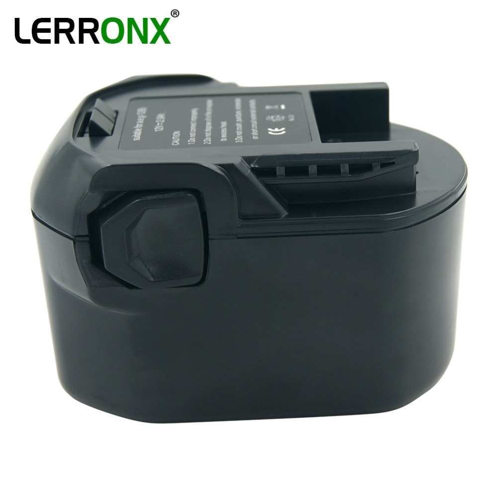 Batería de repuesto Nicd 12V 2000mAh para Taladro Inalámbrico AEG Ridgid batería recargable ni-cd B1214G B1215R B1220R
