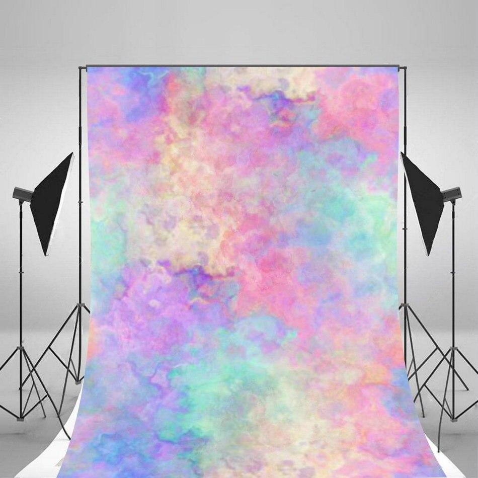 Fondos de fotografía de acuarela colorida bokeh tela de vinilo de alta calidad Impresión de ordenador pared telón de fondo