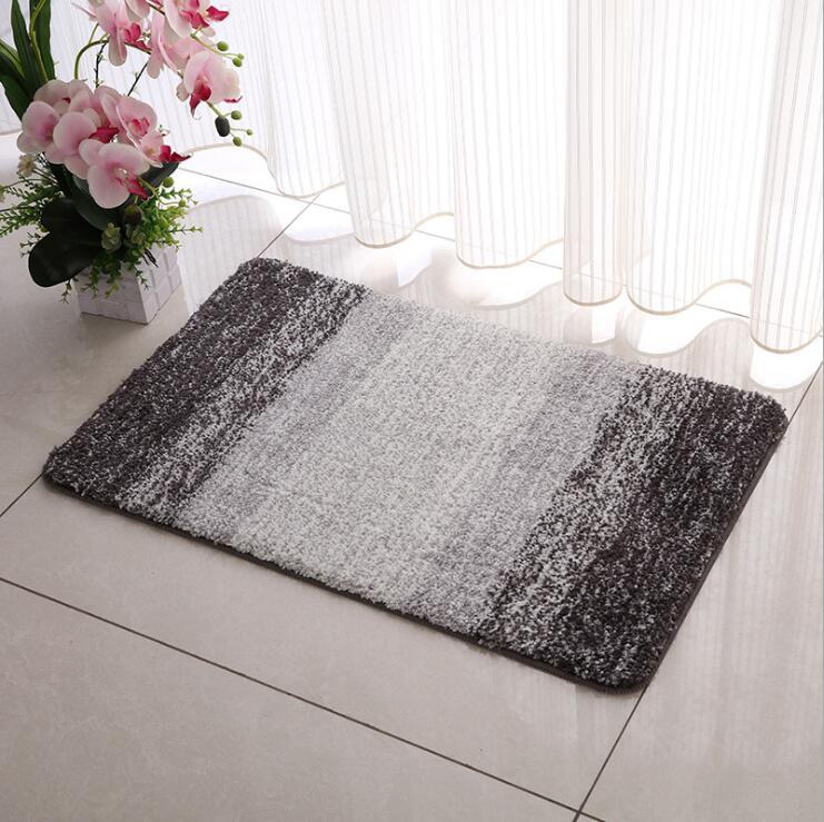 Fyjafon Bathroom Mat Thick Living Room Carpet Non-slip Floor Mat Doormat Absorbent Door Mats for Entrance 40*60/45*70/50*80