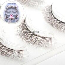 ICYCHEER Mode Maquillage 3D Faux Cils Marron Noir Cosmétique Faux Cils 3 paire/ensemble
