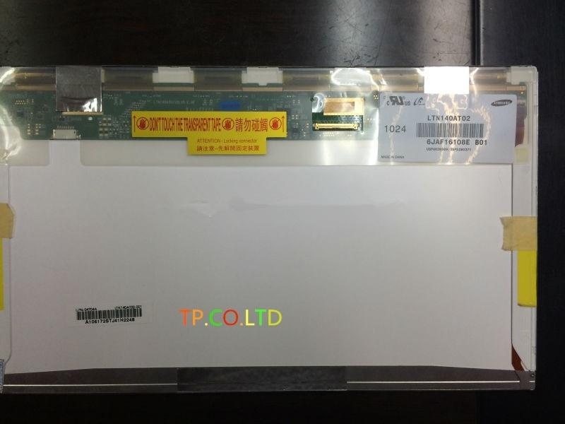 Original Nuevo LCD portátil pantalla LED LTN140AT02 LP140WH4 LP140WH1 LTN140AT16 LTN140AT26 B140XW01 N140BGE-L21 LTN140AT07