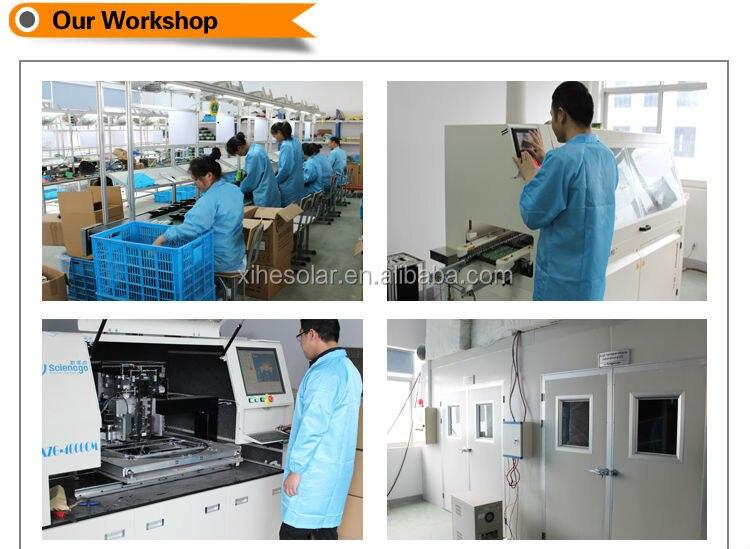 Controlador de carga solar 70A Fangpusun MPPT con sistema de voltaje de 12v 24v 36v 48v