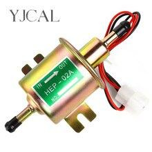 Высокое качество низкого давления универсальный дизельный бензиновый Электрический топливный насос HEP-02A 12В 24В для автомобиля мотоцикла