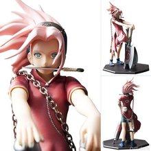 Figurine en PVC 23 cm Naruto Haruno Sakura figurines en PVC Collection de jouets pour cadeau de noël