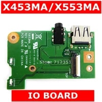 X453MA IO REV 2 0 Fur Asus X453MA X403M F453M X553MA X503MA F553MA X503M F553M Laptop Audio USB IO Board Interface bord