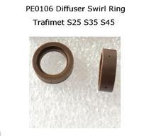 PT-40 PT-60 IPT-40 Swirl Ring PE0106 2 stücke S25 S35 S45 CUT55 Diffusor für Trafimet Plasma Taschenlampe ERGOCUT