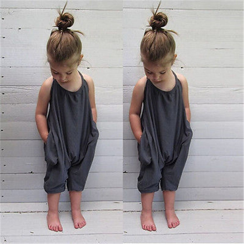 Ropa sin mangas para niños y niñas, Pelele de tirantes con cinturón, pantalones, mono, ropa, trajes