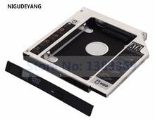 NIGUDEYANG 2nd Hard Drive HDD SSD Caddy Adattatore per Fujitsu lifebook S710 S7220 S751 T5010