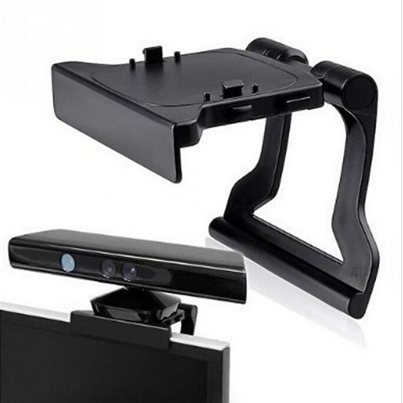 Abrazadera de montaje ajustable para Monitor de TV, soporte plegable para Microsoft Xbox360 X360 Kinect Sensor, soporte de soporte para cámara