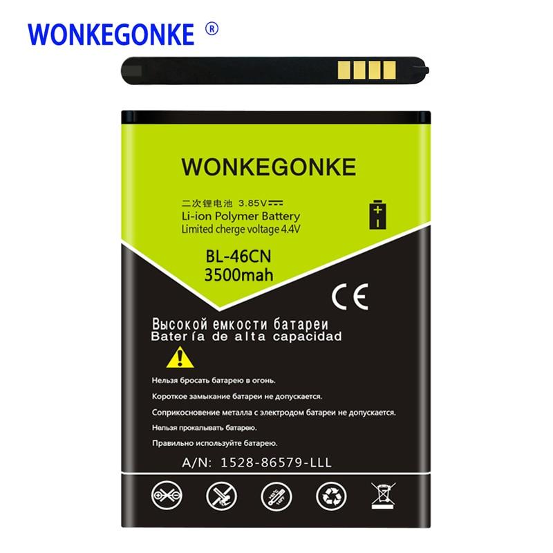 BL-46CN Para LG A340 WONKEGONKE VN251 vn251s vn360 Substituição de Baterias de Telefone Celular Bateria