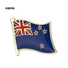 New Zealand flag badge pin lapel pin 100pcs a lot Brooch Icons KS-0193