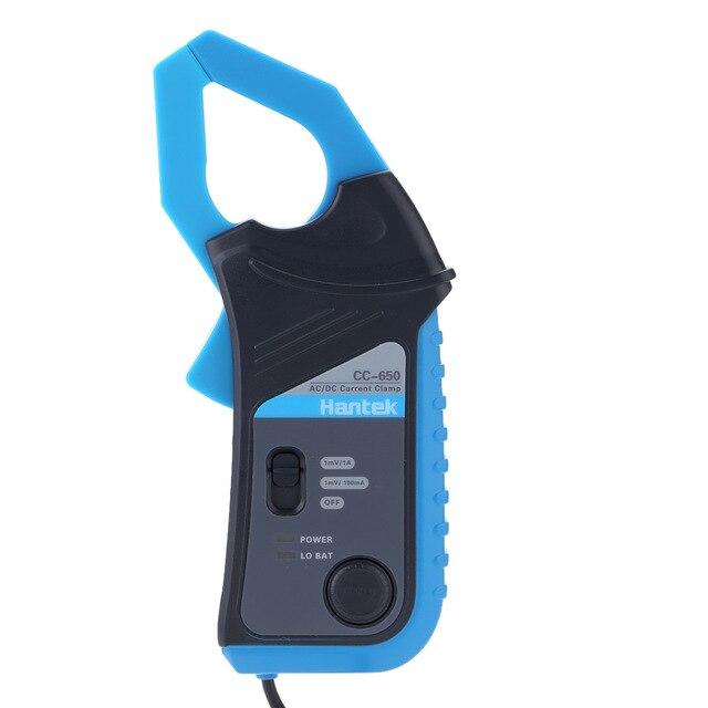 Medidor de abrazadera de CC-650 400Hz ancho de banda 20mA a 650A...