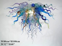Free Shipping Contemporary Hanging Light Murano Art Glass