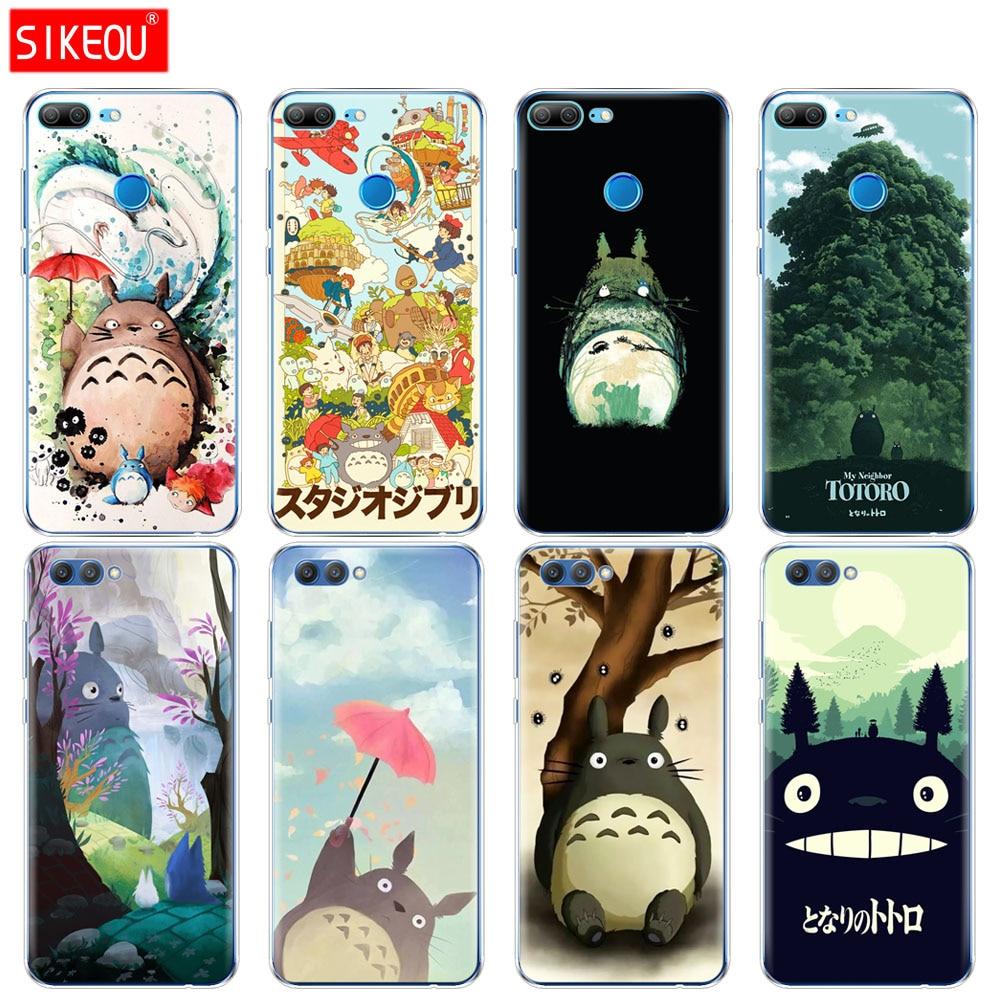 Силиконовый чехол для телефона Huawei Honor 10 V10 3c 4C 5c 5x 4A 6A 6C pro 6X 7X 6 7 8 9 LITE My neighter Totoro, аниме
