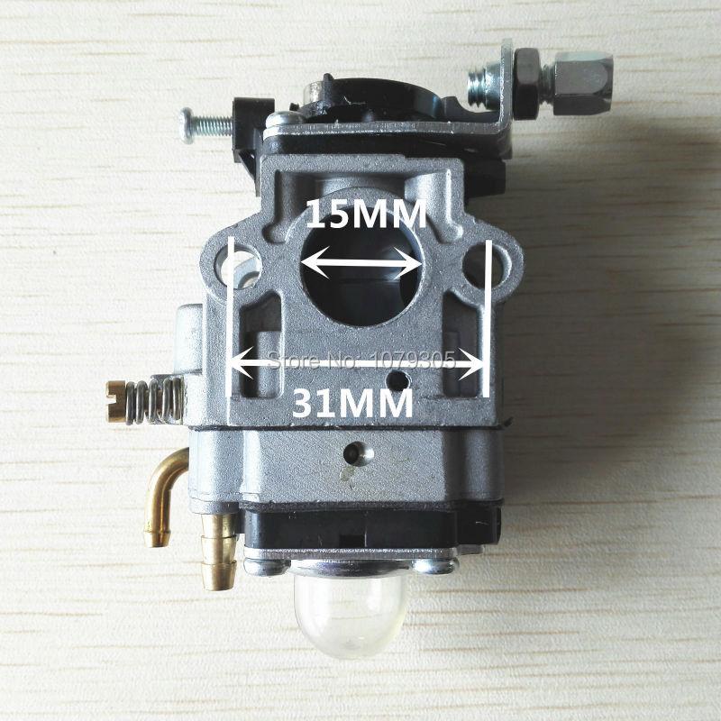 1E40F-5/1E44-5 430 42.7cc/49.3cc decespugliatore tosaerba 15mm carburatore tagliaerba