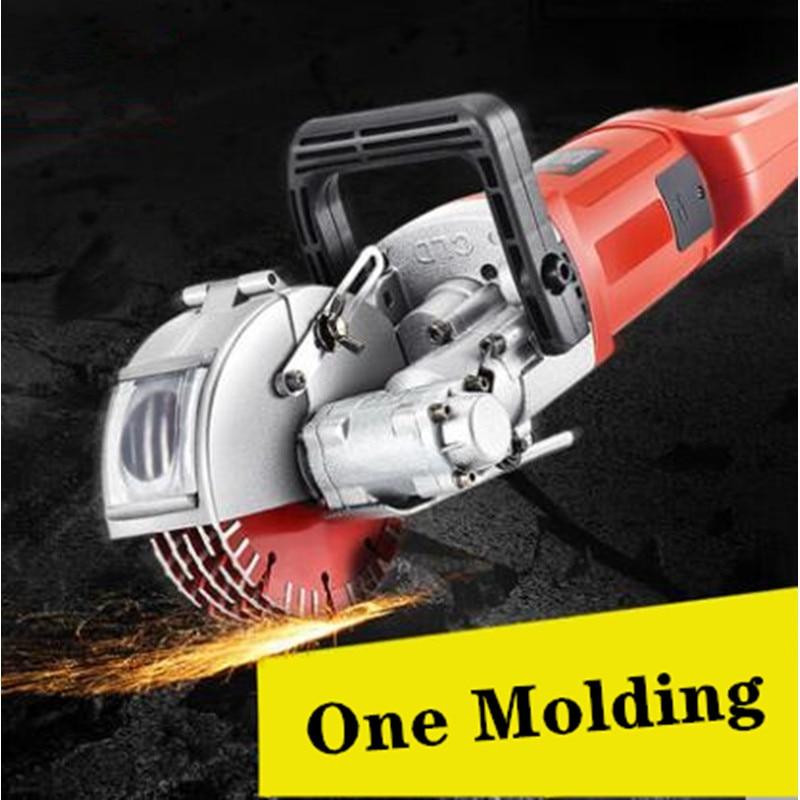 ماكينة تحزيز الجدار الكهربائية ، 220 فولت ، 3.8 واط-5.5 واط ، آلة قطع الخرسانة والفولاذ
