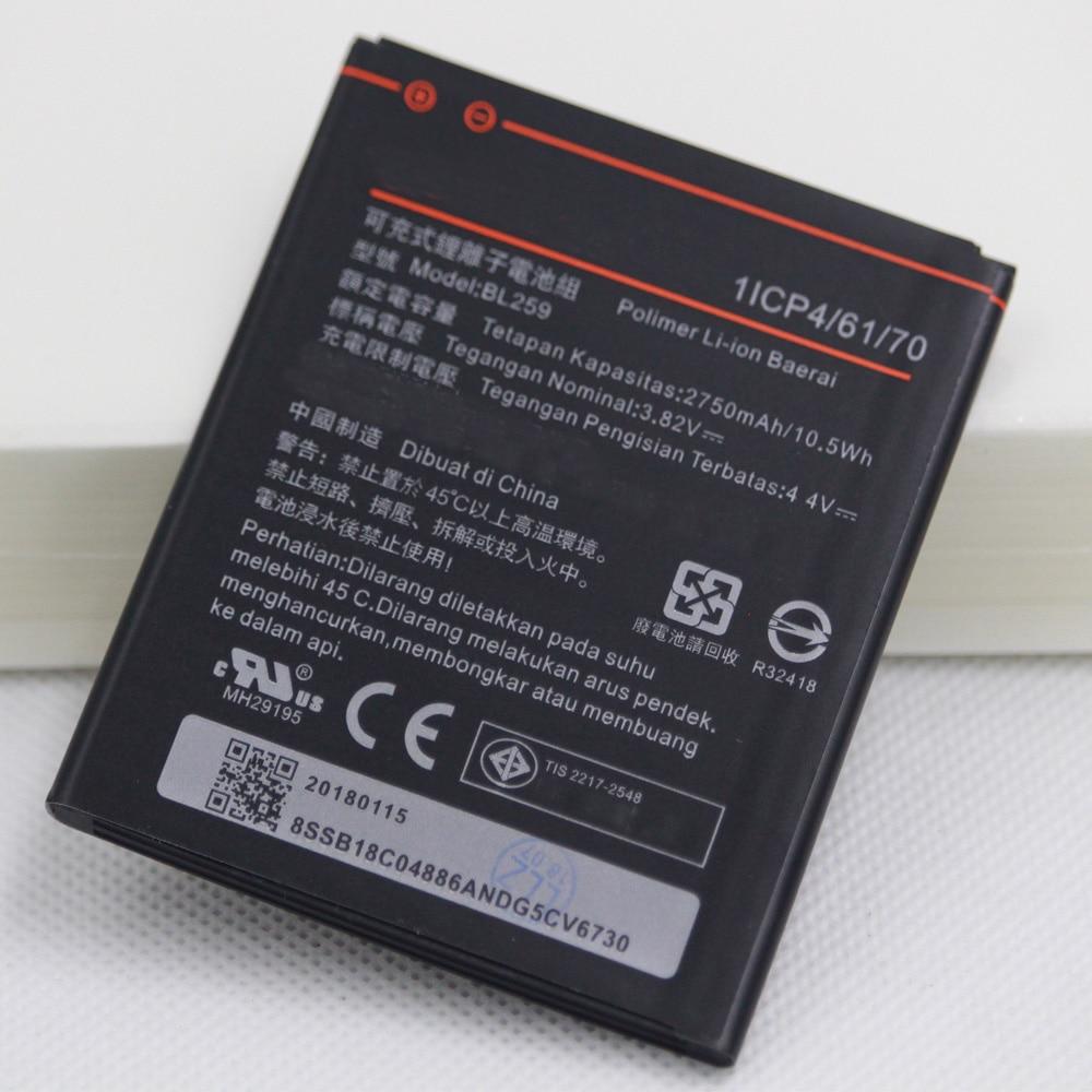 20 unids/lote de la batería del teléfono móvil para Lenovo BL259 Limón 3 3S K32C30 K32c36 Vibe K5/ K5 Plus / A6020a40 A6020 a40 baterías