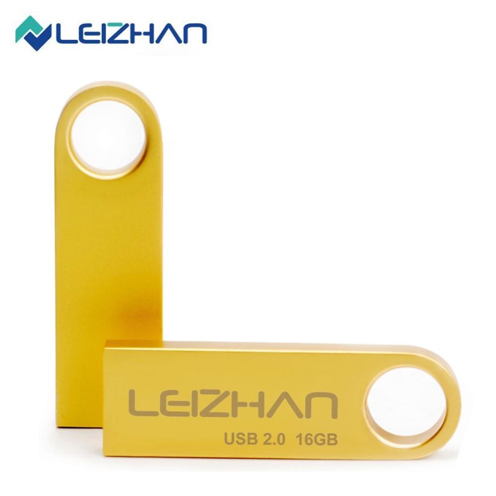 LEIZHAN-unidad Flash USB de Metal para tableta, 64gb, 32gb, 16gb, 8gb, 4gb,...