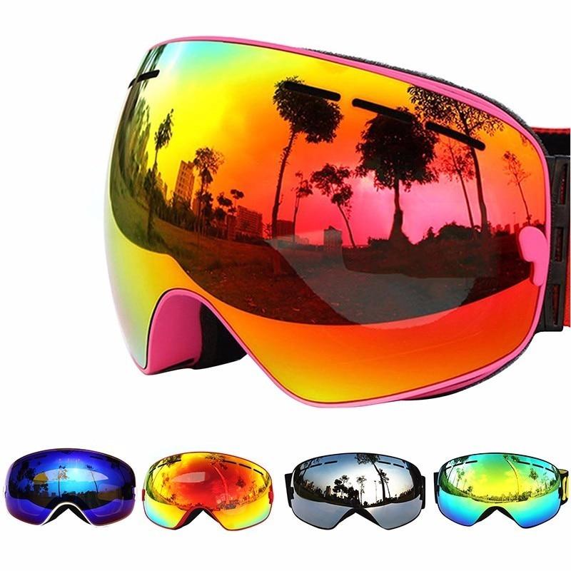 Copozz лыжные очки двухслойные UV400 Анти-туман большой Лыжная маска Очки Лыжный Спорт Для мужчин Для женщин профессиональный снег сноуборд очки...