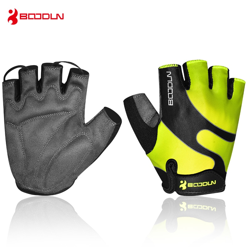 Boodun Weight Lifting Gym Gloves Men Women Sports Fitness Breathable Comfortable Gloves Half Finger Gloves Trainning high quality sports gym gloves wrist weights fitness men gloves half finger breathable anti skid silica women gloves