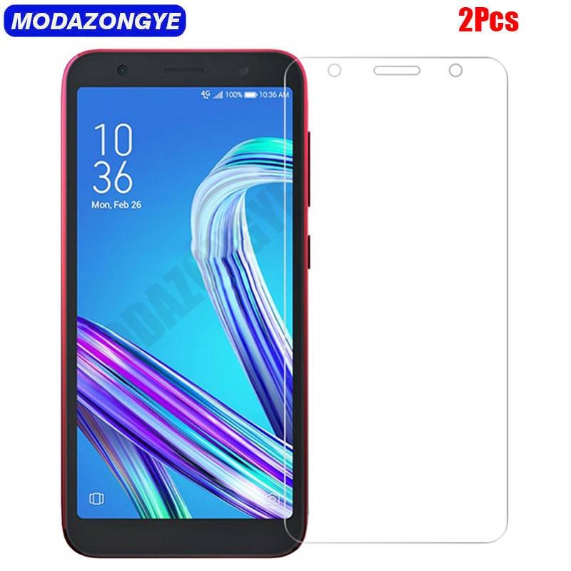 2 uds vidrio templado para Asus ZenFone Live L2 ZA550KL Protector de pantalla ASUS ZA550KL ZA ZA550 550 550KL KL LiveL2 película protectora