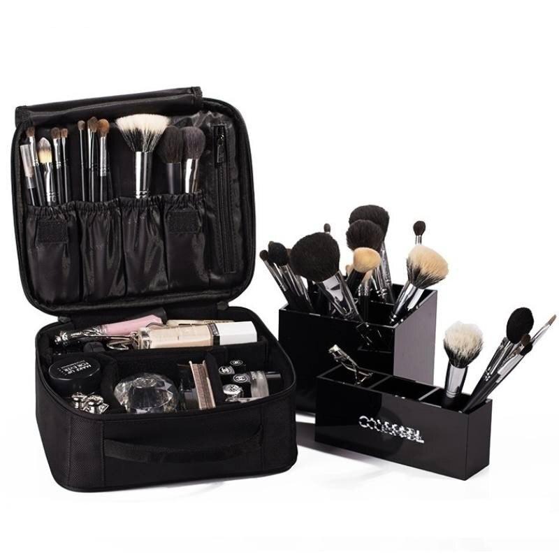 Bolsa de cosméticos para mujer, kits de viaje para neceser, estuche impermeable para maquillaje, Bolsa organizadora, Bolsa de maquillaje, envío directo