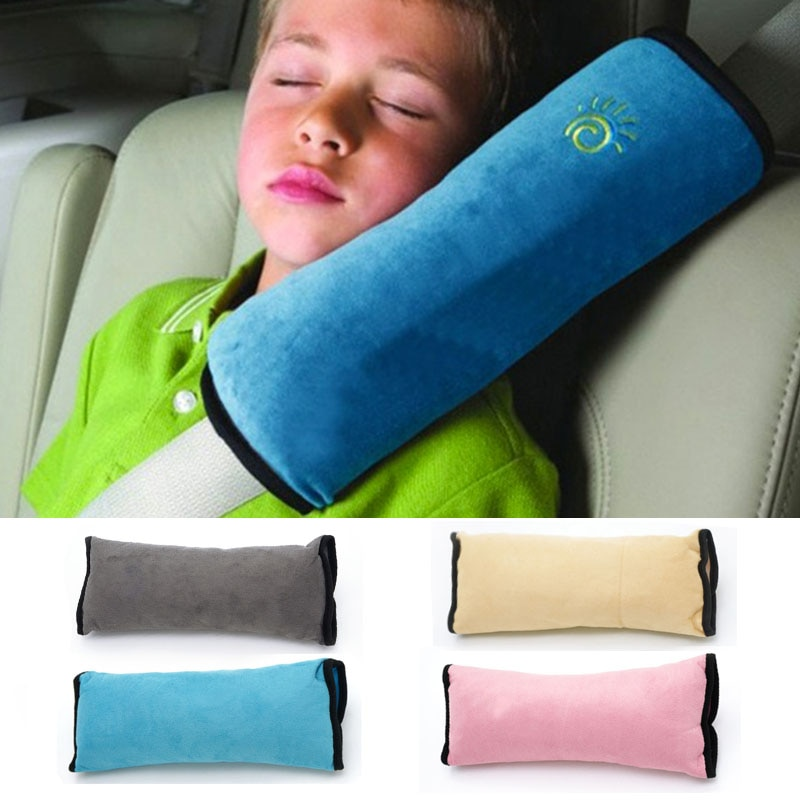 Baby Pillow Kid Car Pillows Auto Safety Seat Belt Shoulder Cushion Pad Harness Protection Support Pi