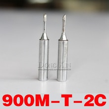 Free shipping 900M-T-2C soldering iron tip for HAKKO 936 promotion price 10pcs/lot