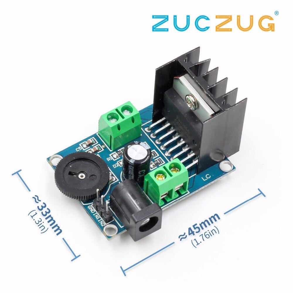HIFI tarjeta de Audio de dos canales TDA7266 módulo amplificador de Audio operacional Chips 7W + 7W Doble Canal 4-8 ohm 5-15W