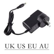 Adaptador de cargador de caja de TV UK US AU EU convertidor 5V 2A cargador T95N T95Zplus T95X T95m V88 para MXQ-4K para Smart Android TV Box