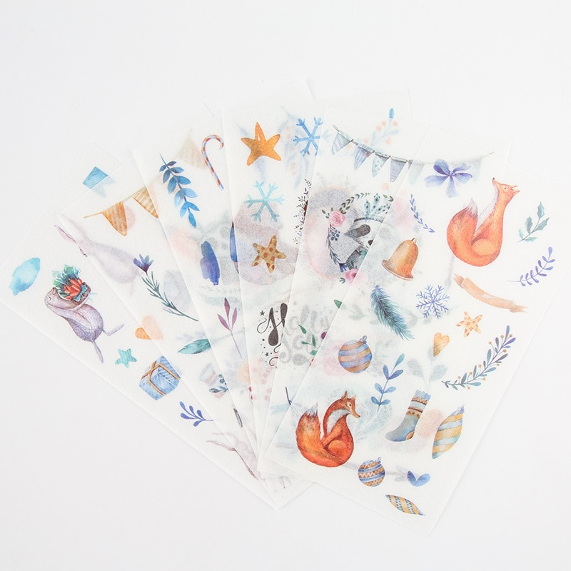 6-uds-nuevo-mundo-de-cuento-de-hadas-pegatinas-de-papeleria-para-ninos-para-albumes-de-bricolaje-decoracion-de-diario-decoracion-de-dibujos-animados