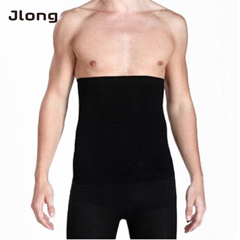 Men Slimming Waist Trainer Muscle Build Belt Girdle Adjustable Body Waist Tummy Tuck Fat Slim Shapewear