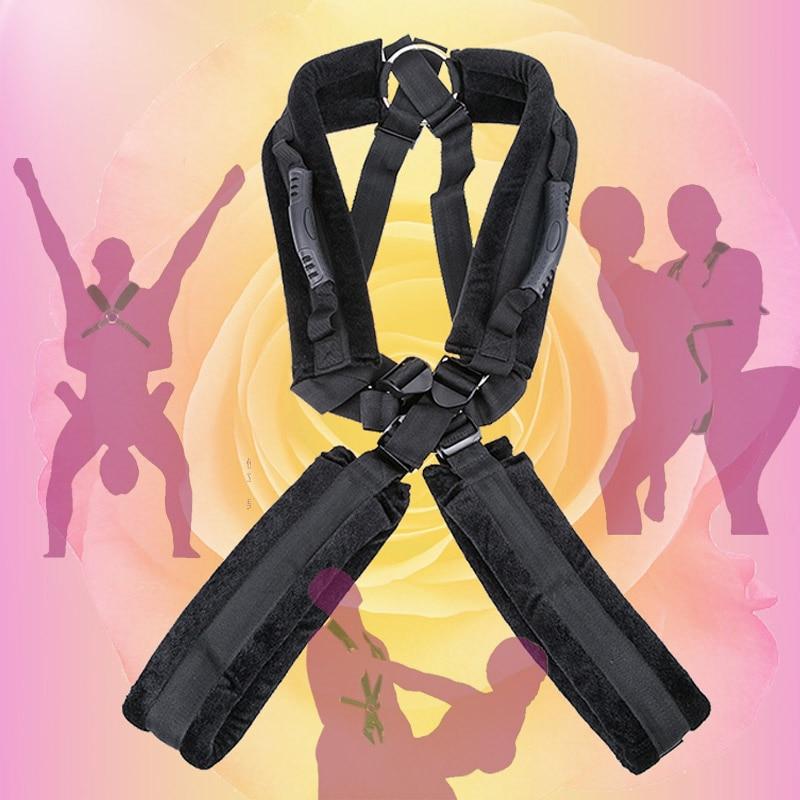 Erotyczne gry dla dorosłych dla par małżeńskich huśtawka erotyczna fetysz perwersyjne SM zabawki erotyczne pozycja BDSM Bondage ograniczenia uprząż pasek