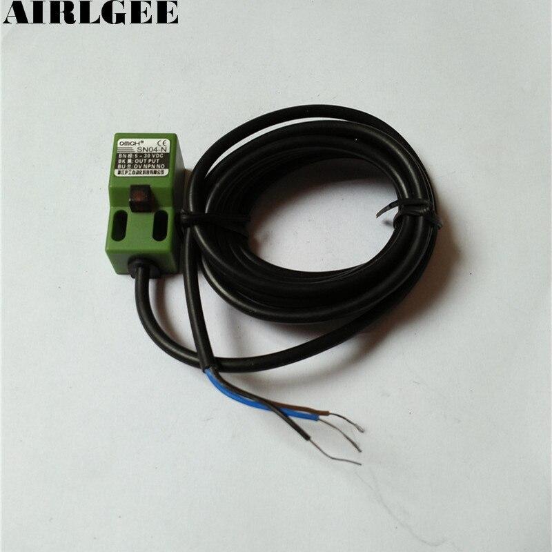 SN04 3-leiter 4mm Induktive Näherungsschalter Sensor-detektor 5-30Volt NPN